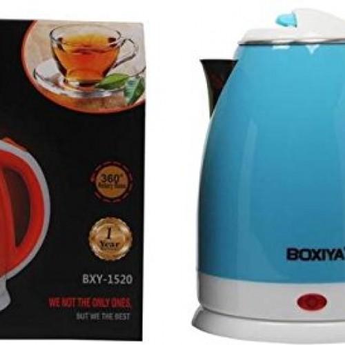غلاية بلاستيكية ماركة BOXIYA بسعة 1.8 لتر