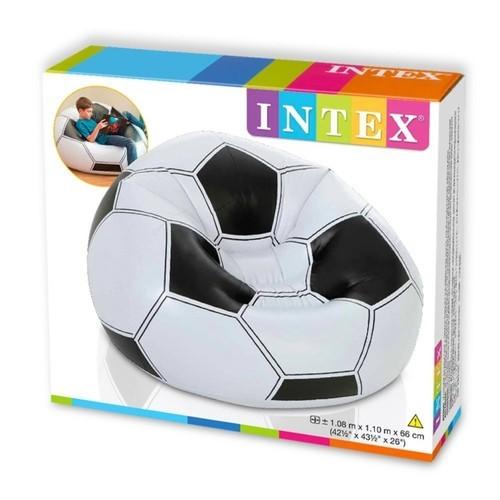 مقعد على شكل كرة ماركة Intex بقدرة تحمل 100 كيلو جرام