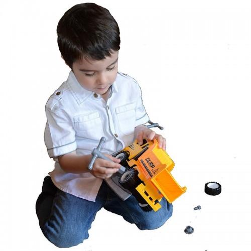 لعبة تركيب الشاحنة Truck Excavator