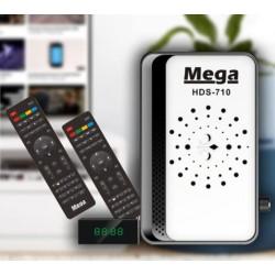 ريسيفر ذكي بجودة Full HD ماركة Mega 710 بمواصفات مميزة وبكفالة لمدة عام