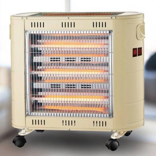 صوبة كهربائية فاخرة ماركة Mega QH1720 تحتوي على 5 أعمدة وبقوة 1850 واط وبكفالة لمدة عام