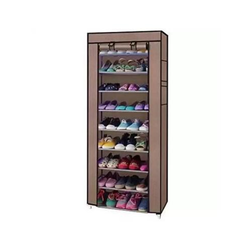 خزانة احذيه 9 رفوف سهلة التركيب مع امكانية اغلاقها وفتحها بسهولة