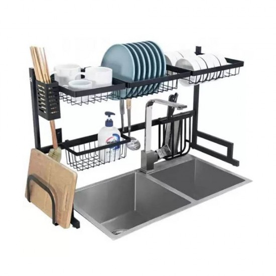 ستاند الجلي الحجم الكبير لتنظيم كافة أدوات المطبخ