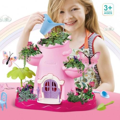 لعبة الزراعة للأطفال مع الأدوات