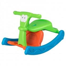 كرسي هزاز  للاطفال على شكل حصان ويمكن تحويله لكرسي عادي