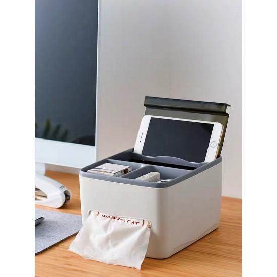 صندوق متعدد الاستخدام مع مكان مخصص للمحارم
