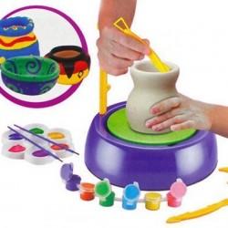 لعبة تشكيل الفخار للأطفال بــ عمر 8 سنوات فما فوق