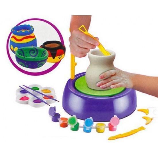 لعبة تشكيل الفخار للاطفال بــ عمر 8 سنوات فما فوق