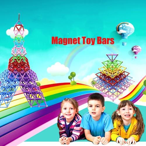 ليجو مغناطيسي للاطفال تحتوي على 228 قطعة