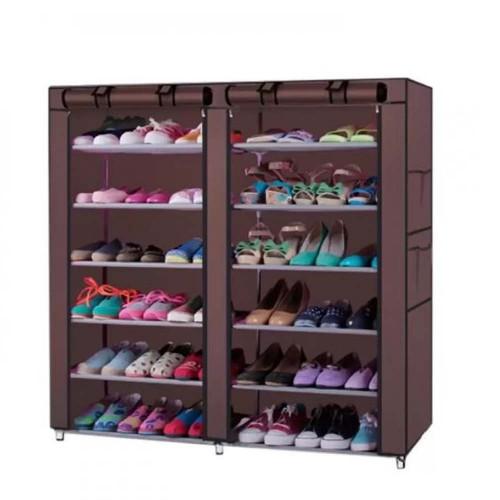 خزانة احذيه 6 رفوف موديل T-2712 سهلة التركيب مع امكانية اغلاقها وفتحها بسهولة