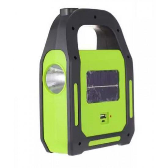 كشاف الطوارئ العجيب 4×1 يعمل بالشحن والطاقة الشمسية