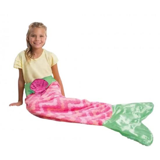 غطاء شتوي على شكل سمكة