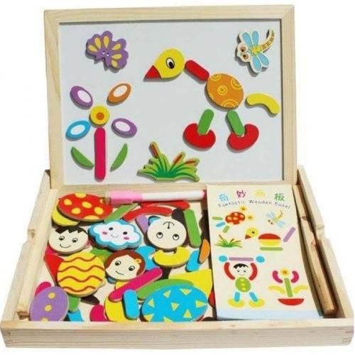 لوح الألعاب والأشكال للأطفال بعمر يزيد عن 3 سنوات