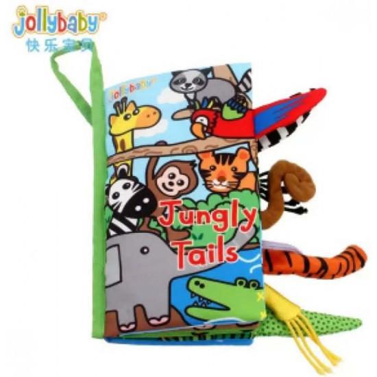 كتاب قماش تفاعلي للأطفال