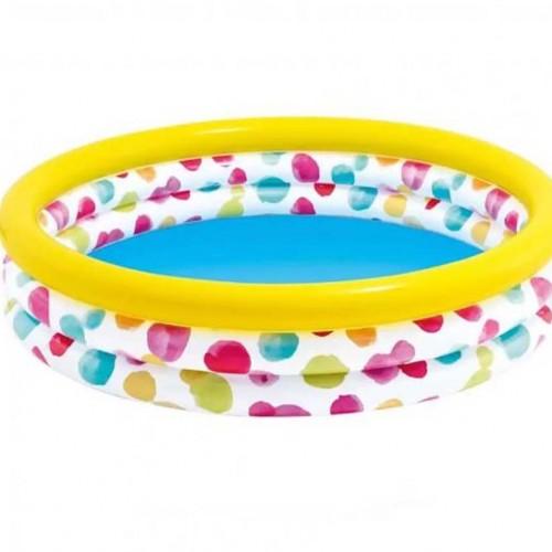 بركة سباحة دائرية ملونة للأطفال ماركة Intex