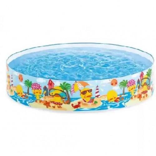 بركة سباحة دائرية برسومات للأطفال ماركة Intex