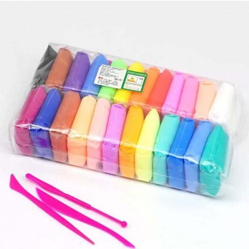 ملتينة رملية ملونة للأطفال لعمل الأشكال المختلفة مكونة من 12 لون