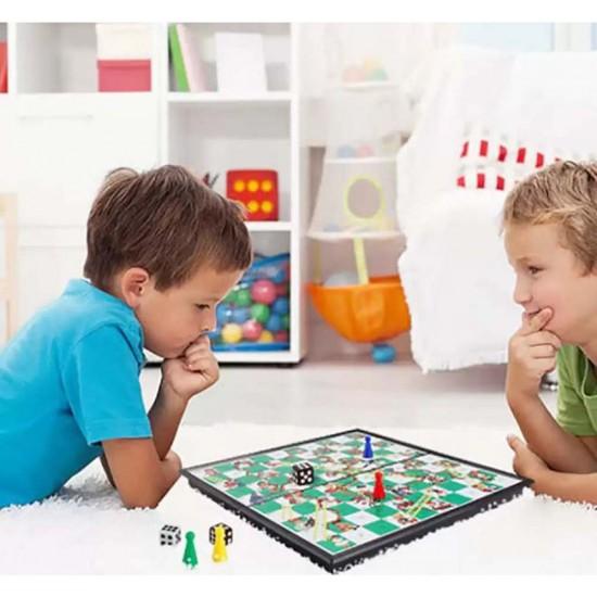 لعبة السلم والحية للاطفال