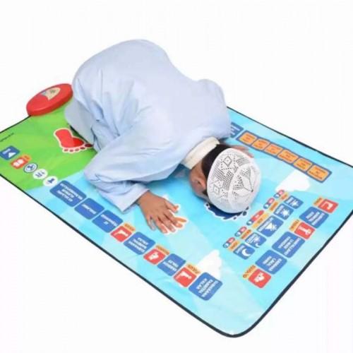 سجادة صلاتي لتعليم الأطفال الصلاة تعمل باللمس