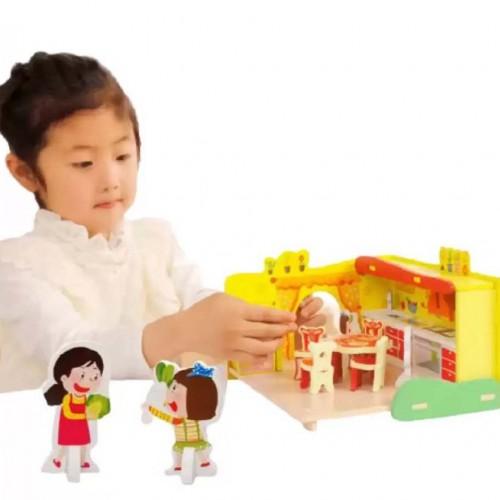 مطبخ 3d للفتيات ثلاثي الابعاد