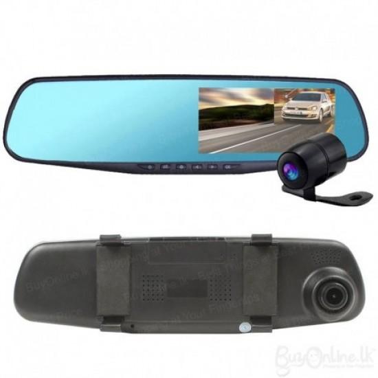 كاميرا تسجيل للسيارة اماميه وخلفيه وداخليه 3 * 1 بوضوح عالي وجودة ممتازة