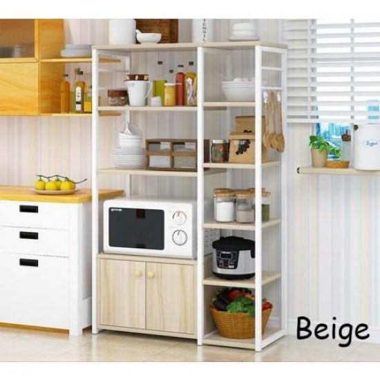 خزانة للمطبخ تحتوي على رفوف متعددة الاستخدامات 100-11