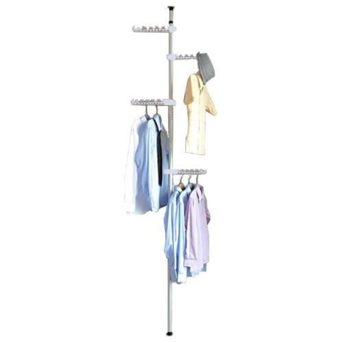 علاقة ملابس على شكل عمود يمكن تثبيته بسهولة موديل 162-2