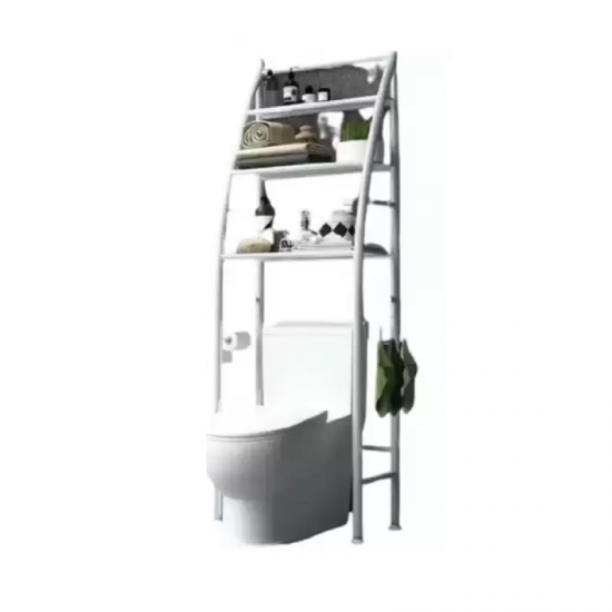 رفوف تنظيمية يمكن وضعها فوق كرسي الحمام موديل 101-2
