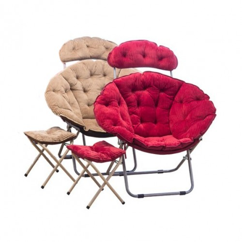 كرسي فاخر سهل الطوي مع قطعة لراحة القدمين موديل 970-1
