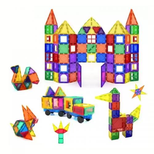 ليجو مغناطيسي للأطفال 60 قطعة