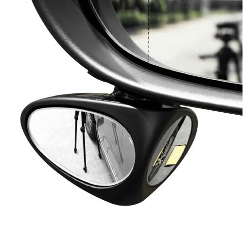 مرآة النقطة العمياء بعدستين للسيارة ( يمين ، شمال )