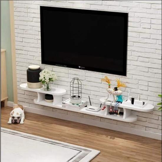 رف كبير لأغراض التلفاز وعرض ديكور المنزل