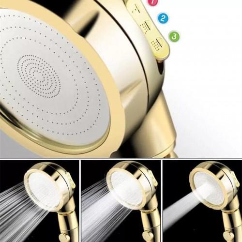 الدوش الملكي للاستحمام باللون الذهبي (ضغط عالي )