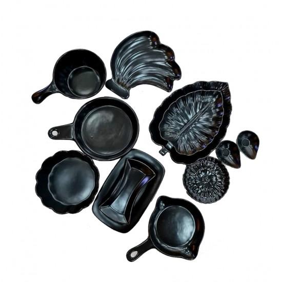 طقم صحون مكون من 12 قطعة