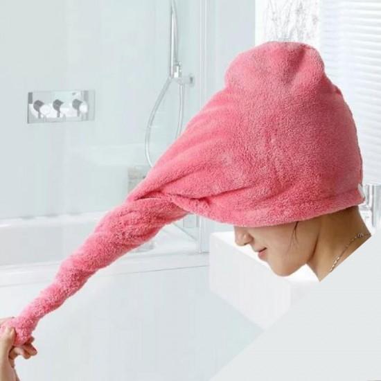 منشفة تجفيف الشعر للسيدات