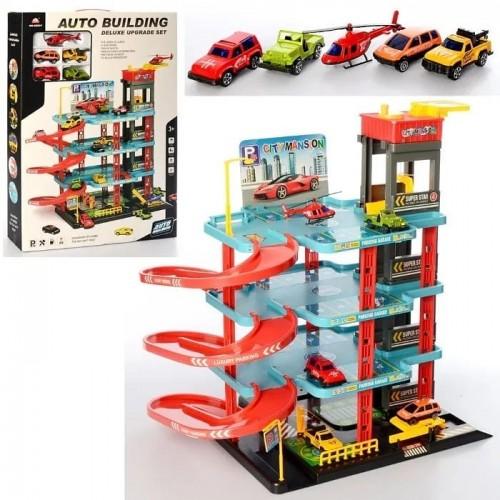 لعبة كراج السيارات للأطفال