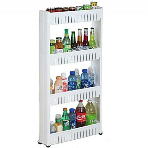 منظم اغراض المطبخ البلاستيكي باربعة رفوف موديل 956-3