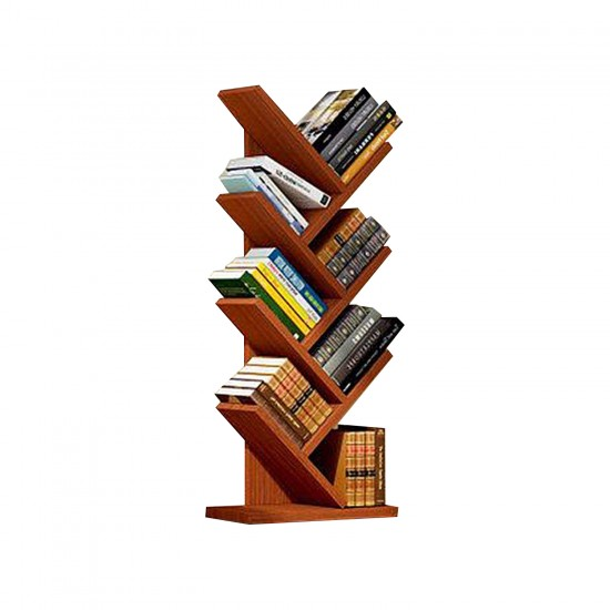 مكتبة خشبية مكونة من 8 طبقات موديل 757-2