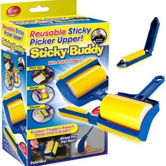 فرشاية sticky buddy العجيبه للتنظيف
