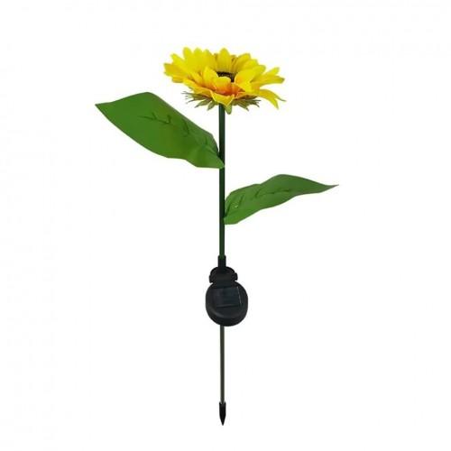 اضاءة على شكل زهرة الشمس تعمل بالطاقة الشمسية