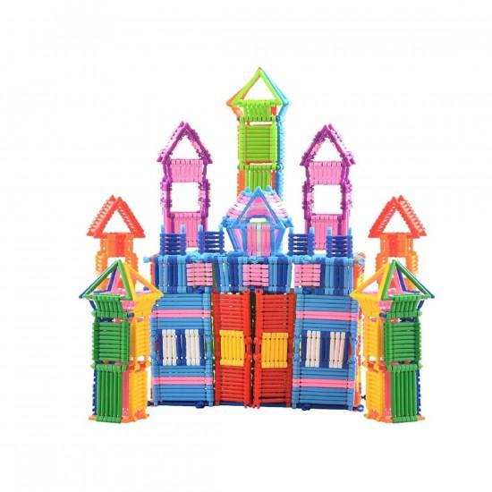 لعبة تركيب العيدان البلاستيك للأطفال