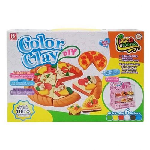 لعبة الملتينة لصنع البيتزا للأطفال