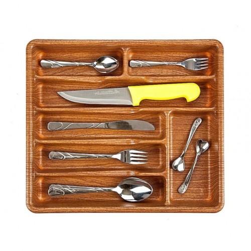 منظم معالق وسكاكين مقسم لـ7 اماكن