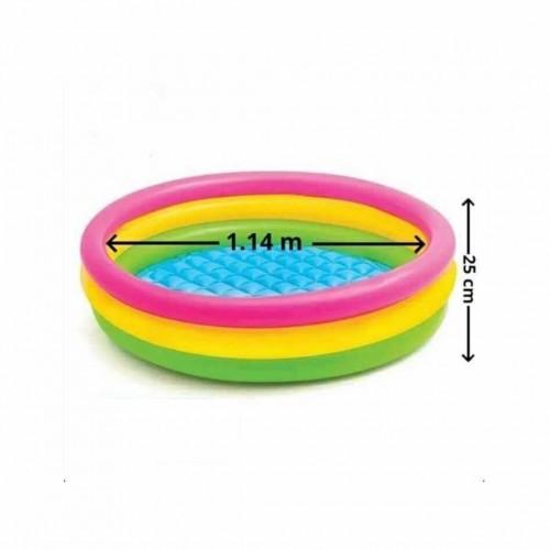 بركة سباحة ملونة للأطفال ماركة Intex حجم متوسط