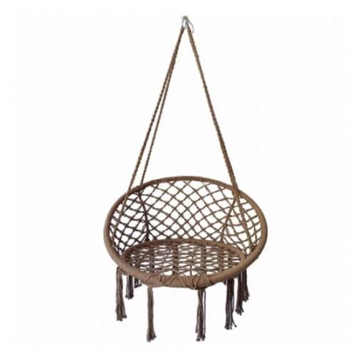 مرجوحة عصرية مقعد واحد يمكن تركيبها بالداخل او الخارج