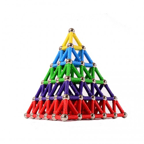 ليجو مغناطيسي للأطفال يحتوي على 100 قطعة