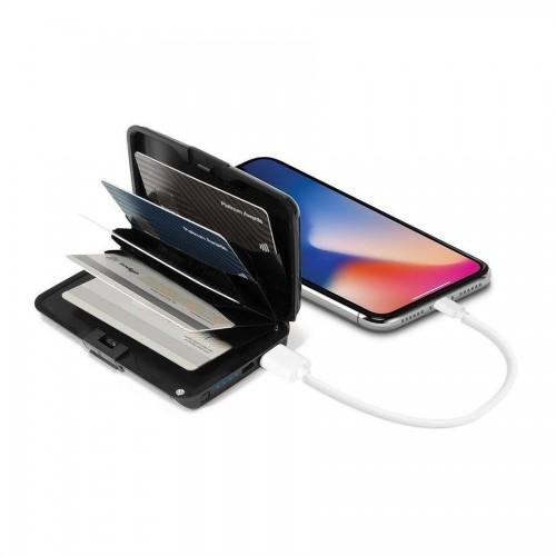 محفظة للبطاقات مع بور بانك للهاتف
