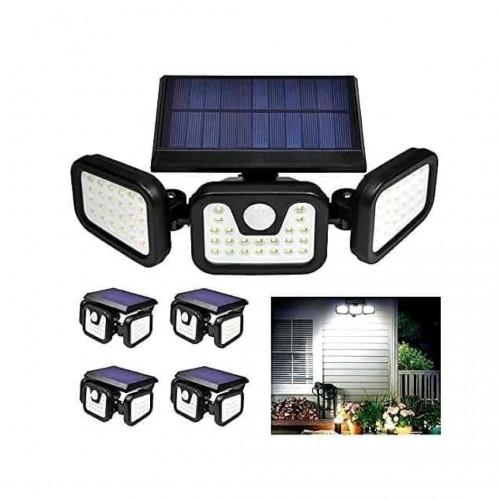 كشاف يعمل على الطاقة الشمسية بثلاث اتجاهات للاضاءة