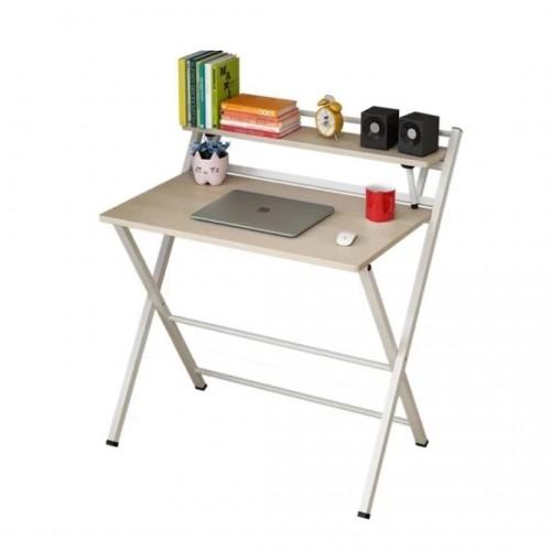 مكتب سهل الطوي مصنوع من هيكل معدني وغطاء خشبي bd 2-7