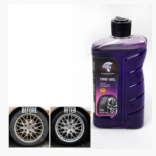 منظف عجلات السيارة tire gel gladiator